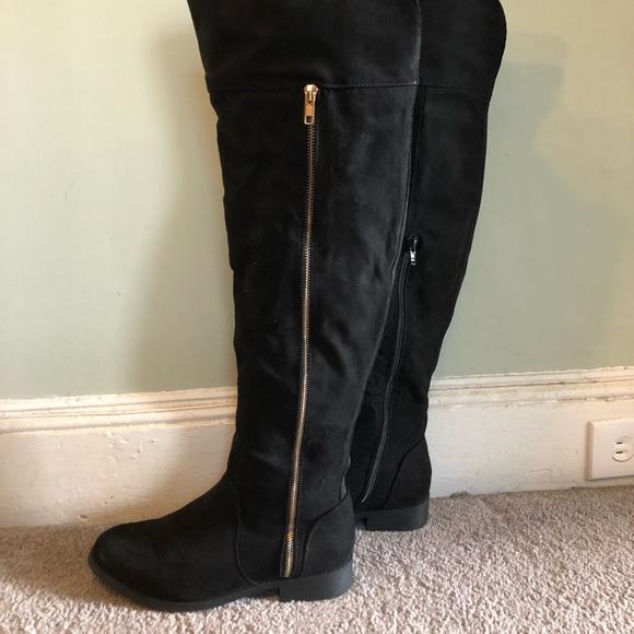 black knee high boots primark, OFF 71